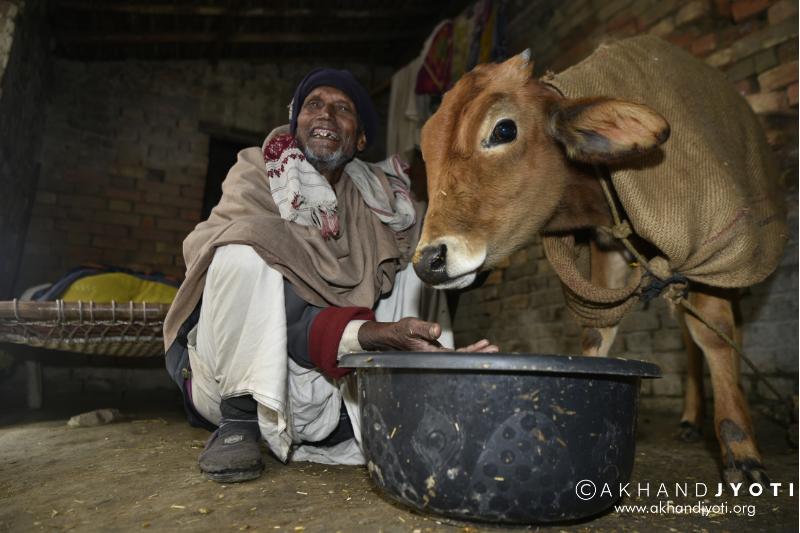 Lakshman Ray after eye surgery