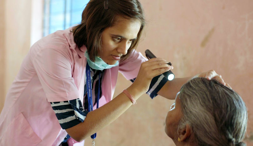Empower a girl to be an optometrist